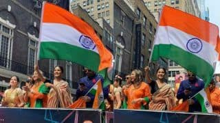 Hina Khan Keeps Indian Flag Flying High at New York City's India Day Parade- Watch Videos
