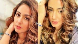 Hina Khan Shares Stunning Selfies as She Flaunts Her Makeup And Hair