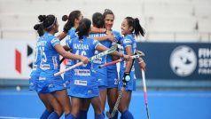 2 गोल से पिछड़ी भारतीय महिला हॉकी टीम ने ऑस्ट्रेलिया से 2-2 से ड्रा खेला
