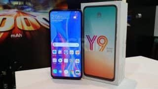 Huawei Y9 Prime (2019) with pop-up camera to go on first sale today: All you need to know