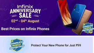 Infinix Anniversary sale: Infinix स्मार्टफोन को सस्ती कीमत में खरीदने का मौका, 99 रुपये में कंप्लीट मोबाइल प्रोटेक्शन