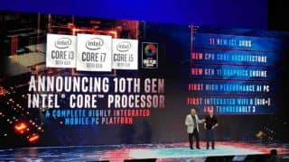 Intel unveils 10th Gen Ice Lake laptop CPUs based on 10nm architecture