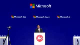 Jio partners with Microsoft for Azure cloud solutions