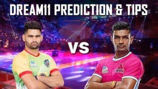 Dream11 Team PAT vs JAI Pro Kabaddi League 2019 - Kabaddi Prediction Tips For Today's PKL Match Patna Pirates vs Jaipur Pink Panthers at Patliputra Sports Complex, Patna