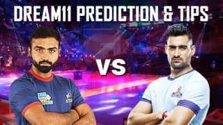 Dream11 Team Haryana Steelers vs Tamil Thalaivas Pro Kabaddi League 2019 - Kabaddi Prediction Tips For Today's PKL Match HAR vs TAM at Patliputra Sports Complex, Patna