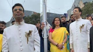 Karan Johar Turns Emotional While Hoisting Indian National Flag in Melbourne - Watch Video
