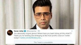 Karan Johar Gets Trolled For his Sexuality Once Again, His Reply Shows Sarcasm is Always a Winner