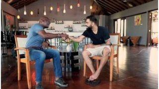 विवियन रिचडर्स से बातचीत के दौरान बोले कोहली- मुझे आक्रामक खेलने को प्रेरित करते हैं बाउंसर्स
