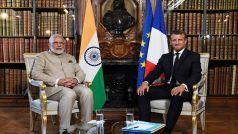 कश्मीर में कोई तीसरा पक्ष न करे हस्तक्षेप, भारत-पाक मिलकर समाधान निकालें: मैक्रों