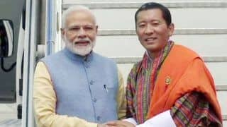 Glimpses of Prime Minister Narendra Modi's Arrival And Welcome in Bhutan | Watch