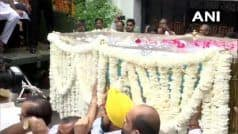LIVE: Arun Jaitley's Mortal Remains Being Taken to BJP HQ; Leaders Flock to Pay Respects