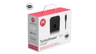 Motorola mobile TurboPower accessories range launched in India