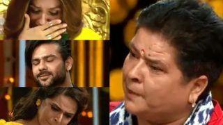 Nach Baliye 9 Emotional Moment: Madhurima Tuli's Mother Makes Everyone Cry as She Talks to Vishal Aditya Singh