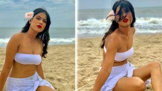 एक बार फिर निया शर्मा ने अपनी बोल्ड तस्वीरों से उड़ाए फैंस के होश, देखें वीडियो