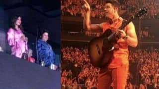 Nick Jonas Gestures 'I Love You' to Priyanka Chopra in The Middle of His Boston Concert - Internet Left Awestruck