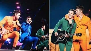 Watch: Boston Goes Crazy as Jonas Brothers Perform at Concert