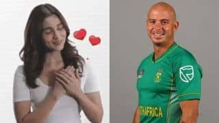 Former South African Cricketer Herschelle Gibbs Engages in Funny Banter Against Bollywood Actress Alia Bhatt on Twitter | SEE POSTS