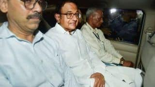 Chidambaram's First Night at Tihar Jail, Served Dal-roti For Dinner; 'Chai-biscuits' at 6 AM