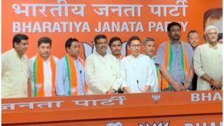 जम्मू कश्मीर: महबूबा मुफ़्ती की पार्टी PDP के कई नेता BJP में शामिल, बोले- 2 साल में दिखेगा बदलाव