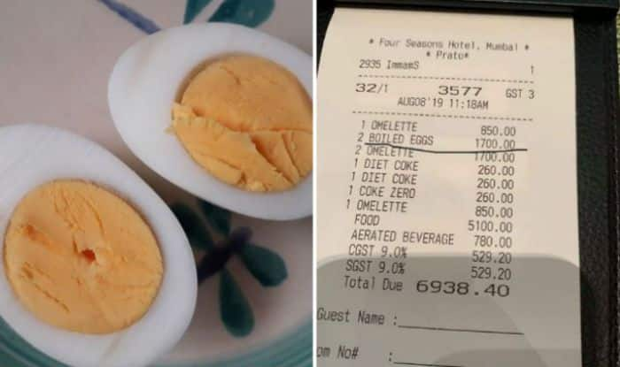After Rahul Bose, Mumbai Hotel Charges Man Rs 1,700 For Two Boiled Eggs