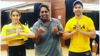 Coolie No.1: Sara Ali Khan-Varun Dhawan Flaunt 'Masterji' Ganesh Acharya's Power as They Get Ready to Recreate His 'First Hit'