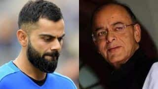 'Shocked & Saddened', Virat Kohli Pays Tribute to Former Finance Minister Arun Jaitley, Shares Heartwarming Condolence on Twitter