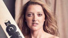 महिला क्रिकेटर ने बगैर कपड़ों के 'बल्लेबाजी' की तो टीम की साथी ने ही किया ट्रोल, देखें PHOTO