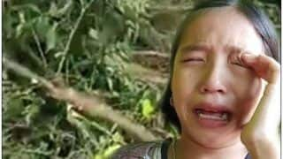 9-Year-Old Manipuri Girl Cries Over Trees She Planted Being Cut Down