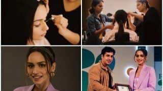 Manushi Chhillar Gives Sneak-Peek Into Her World of Glitter And Glamour After Forbes' Pathbreakers Win
