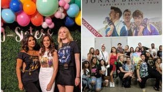 Priyanka Chopra, Sophie Turner, Danielle Jonas Turn 'Happiness Begins' Tour Sultry With Jonas Brothers And THESE Pictures Are Proof!