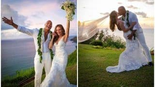 Dwayne Johnson Finally Says 'I do' to 'The Game Plan' Co-Star Lauren Hashian, Wedding Pictures From Hawaii Beach Break Internet