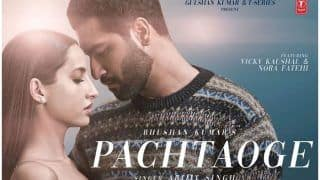 Nora Fatehi-Vicky Kaushal's Blind Infatuation in Arijit Singh's New Love Song 'Pachtaoge' Wins Over Internet