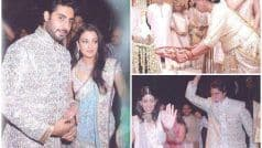 Abu Jani-Sandeep Khosla Treat Internet to Aishwarya-Abhishek's Unseen Wedding Pictures