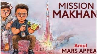 Taapsee Pannu Promises to Oblige With Funky Look as Amul Gives Mission Mangal Its 'Makhan' Touch