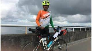 Indian Army General Anil Puri Cycles Non-Stop For 90 Hours in France Event, Earns Twitterati's Salute
