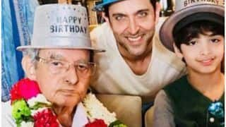 Hrithik Roshan's Filmmaker-Grandfather Om Prakash Passes Away at 93, Super 30 Star Leads Last Rites in Mumbai