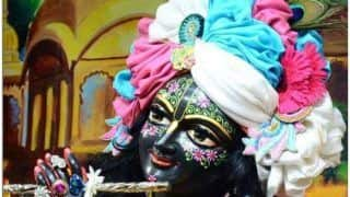 Krishna Janmashtami 2019: Shree Krishna Govind Hare Murari, Barsane Wali Radhe, And Listen More Songs on Lord Krishna Here