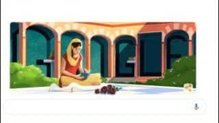 Google Doodle Pays Tribute to Punjabi Poet Amrita Pritam on Her 100th Birthday