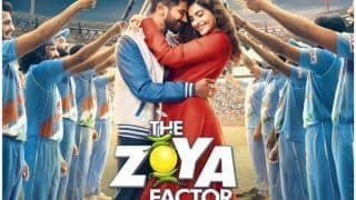 The Zoya Factor First Poster Out: Sonam Kapoor-Dulquer Salmaan Leave Fans Heart-Eyed Ahead of Trailer Launch