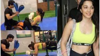 Kiara Advani's Sweaty Morning in Gym Will Give You The Right Motivation- Watch Video