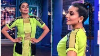 Neon on Point! Bhojpuri Hottie Monalisa is Killing The Show in a Sexy Outfit