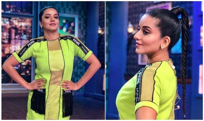 Neon on Point! Bhojpuri Hottie Monalisa is Killing The Show
