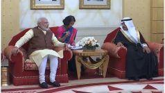 बहरीन पहुंचे PM मोदी का अल खलीफा ने किया स्वागत, श्रीनाथ मंदिर के रंग-रोगन के उद्घाटन में होंगे शामिल
