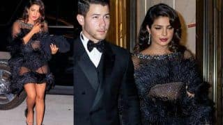 Priyanka Chopra's Sheer-Feathered Ralph And Russo Dress at Joe Jonas 30 is Simply Stunning