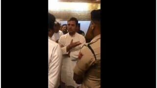 'Why Are we Not Allowed Out?' Rahul Gandhi Argues With Officials at Srinagar Airport   Watch