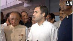 VIDEO: कश्मीर का दौरा करने गए राहुल गांधी एयरपोर्ट से ही लौटाए गए, कहा- वहां सब नॉर्मल नहीं