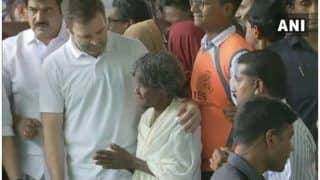 Rahul Gandhi Distributes Flood Relief Material in Wayanad, Says 'Requested PM Modi For Support'