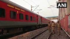 यात्री ने ट्वीट कर डिब्रूगढ़ राजधानी एक्सप्रेस में 5 बम रखे होने का किया दावा, दादरी में रोकी गई ट्रेन