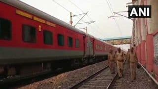 Rajdhani Express Halted at Dadri as Passenger Claims 5 Bombs Onboard, Railway Probe Finds None