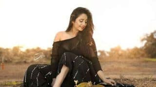 Bhojpuri Hottie Rani Chatterjee's Sexy Look in a See-Through Netted Top is Unmissable